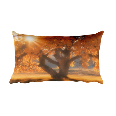 Boxelders Autumn Tree Rectangular Pillow