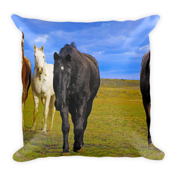 The Four Musketeers Throw Pillow