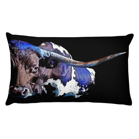 Texas in the Moonlight Rectangular Pillow