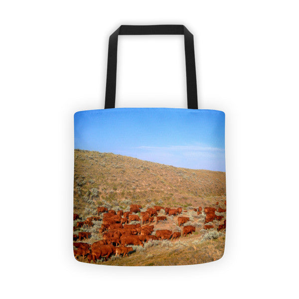 Wyoming Reds Tote bag