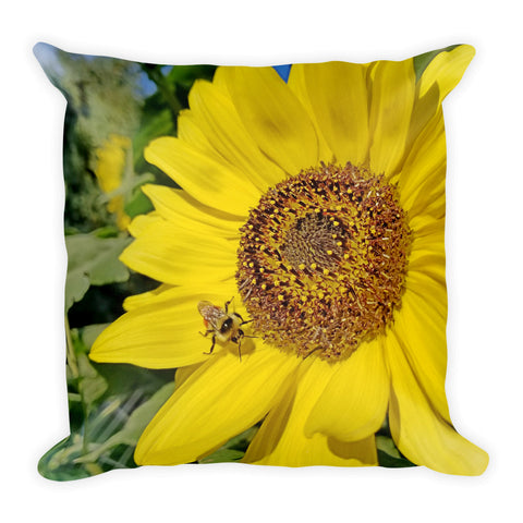 Bee-Dazzled Throw Pillow