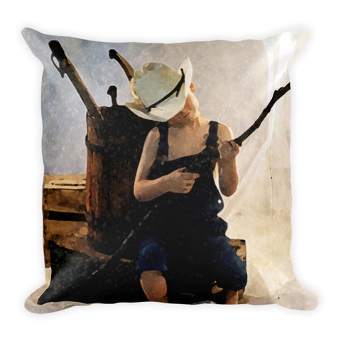 Country Time Throw Pillow