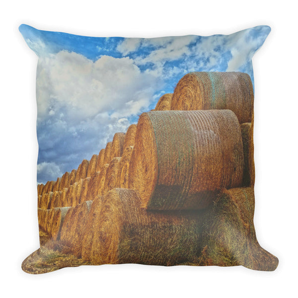 Afternoon Stack Throw Pillow