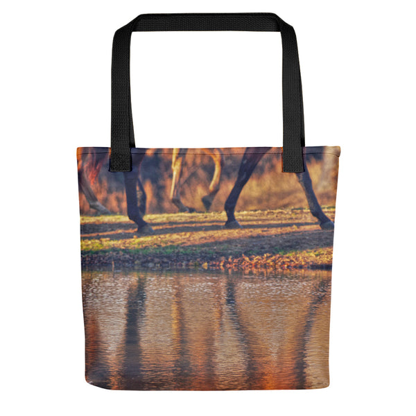 Running Reflection Tote bag