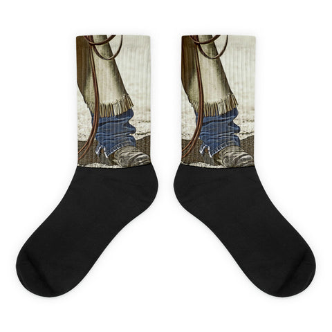Genesis Fear Thou Not - Black foot socks