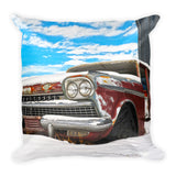 Snow on the Ambassador Throw Pillow