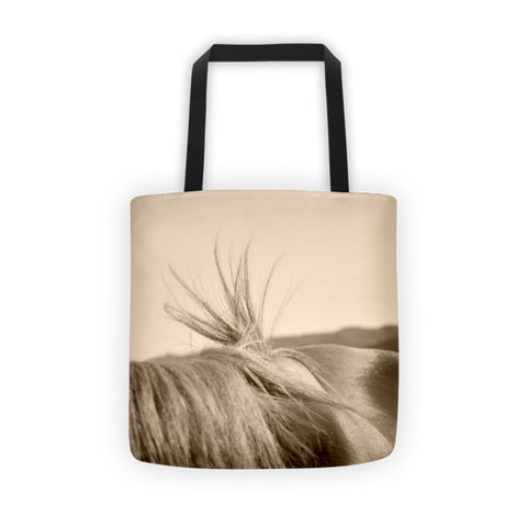 Bareback Hold Tote bag