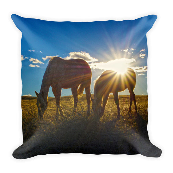 Sunrise Splendor Throw Pillow