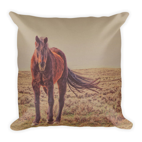 Rust And Prairie Wise Throw Pillow
