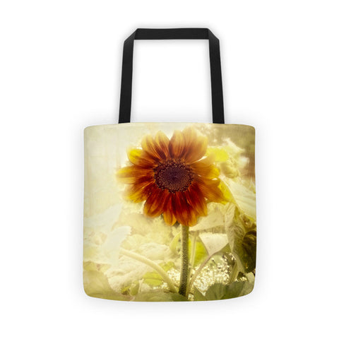 Dusty Retro Sunflower Tote bag