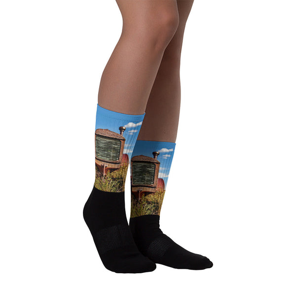 McCormick-Deering - Black foot socks