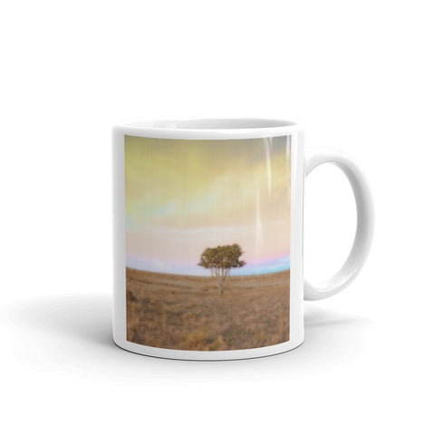 Cedar Tree at Sunset Mug