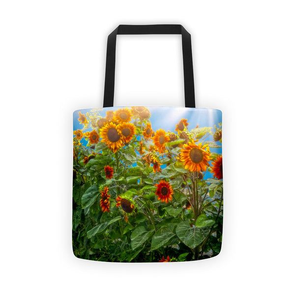 Sunflower Pack Tote bag