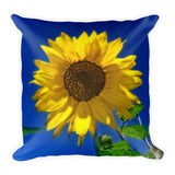 Maize 'N Blue Throw Pillow