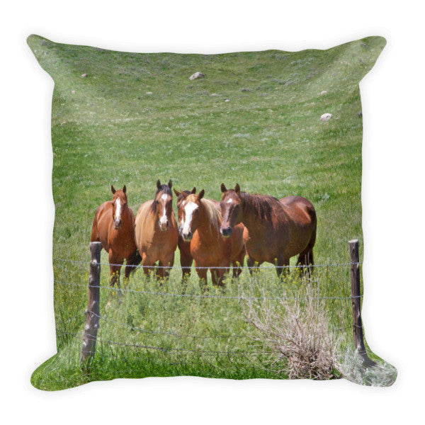 Inquiring Minds Throw Pillow