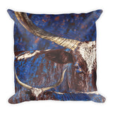 Watusi Blues Throw Pillow