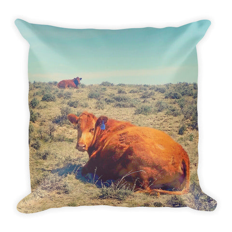 Naptime in April Throw Pillow