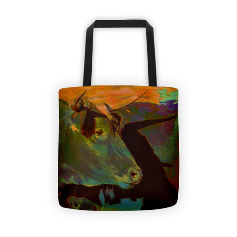 Multi-Color Power Tote bag