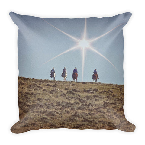 Star of Wonder Throw Pillow