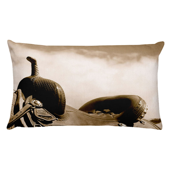 Sepia Saddle Rectangular Pillow