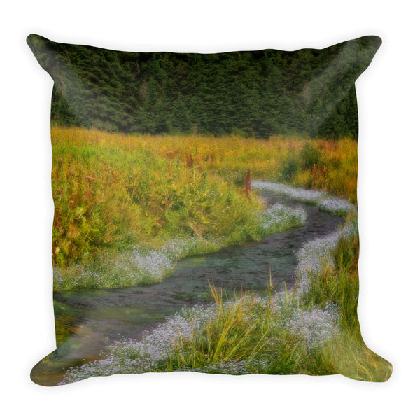 Springtime Splendor Throw Pillow