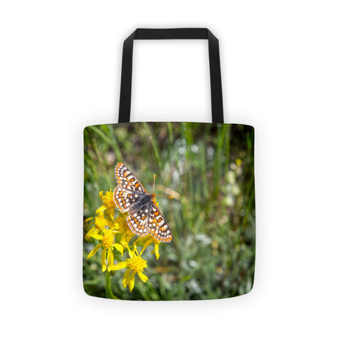 Butterfly in Aspen Tote bag