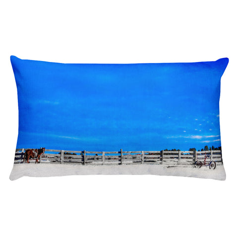 Ready for the Day Rectangular Pillow