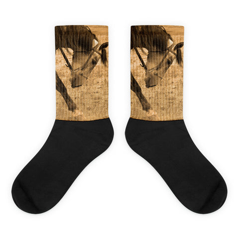 Movement - Black foot socks