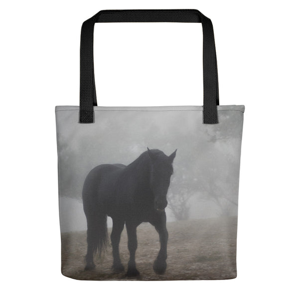 Medieval in the Mist Tote bag