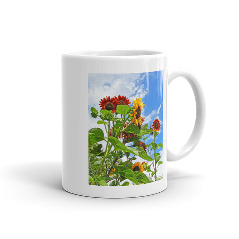 Rustic Sunflowers Mug