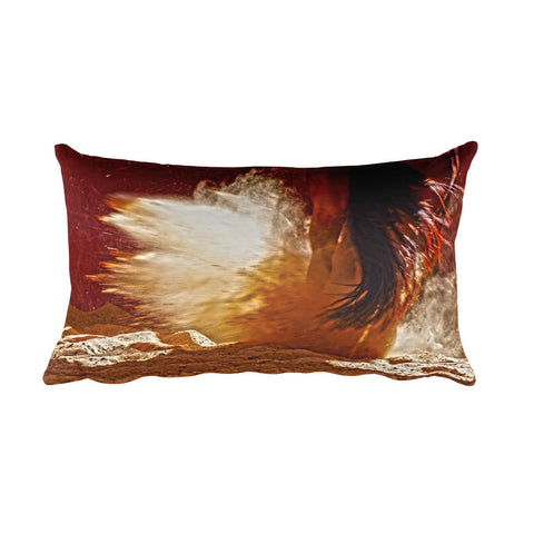 Detonation Rectangular Pillow