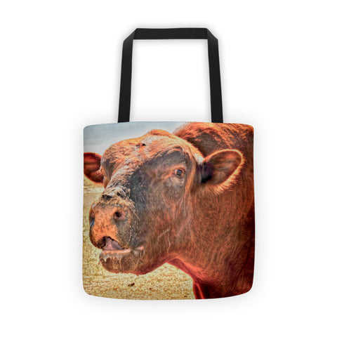 Too Close for Bull Tote bag