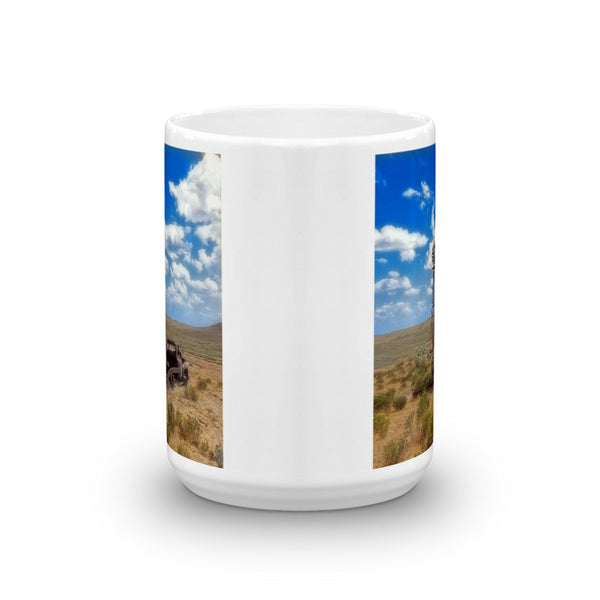 Windmill Over Lenzen Mug