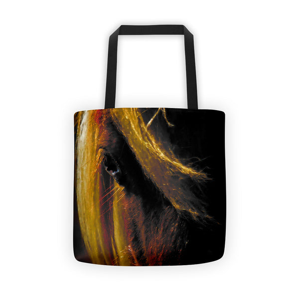 Sunset on the Wild Tote bag