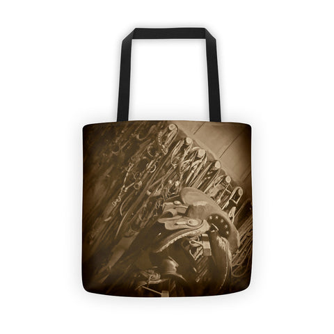 The Tack Room Tote bag