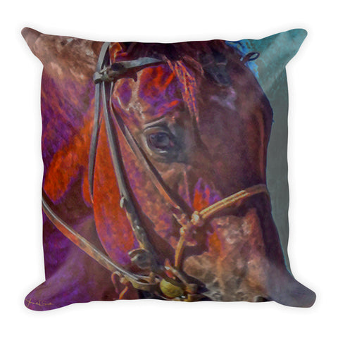 Concentration in Color Throw Pillow