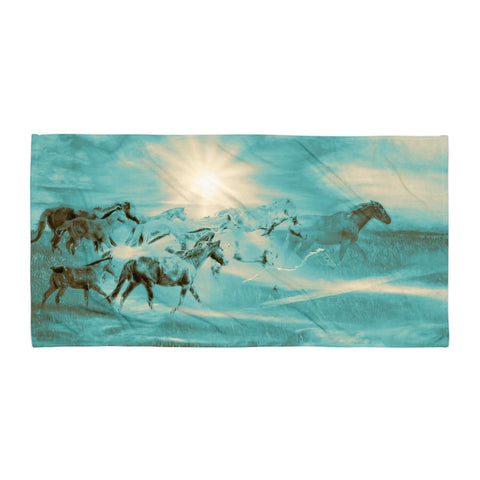 Turquoise Run in Spirit Beach Blanket