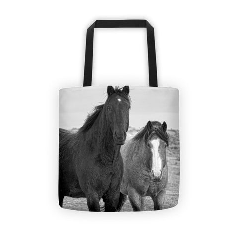 Coated Curiosity Tote bag
