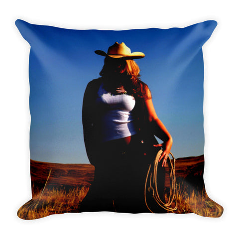 Tougher Than Nails Throw Pillow