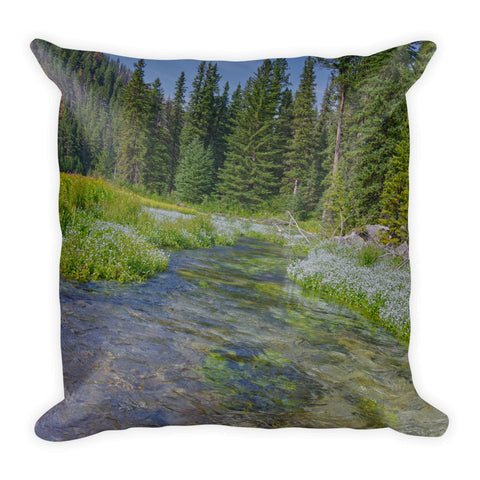 Black Hills Serenity Throw Pillow