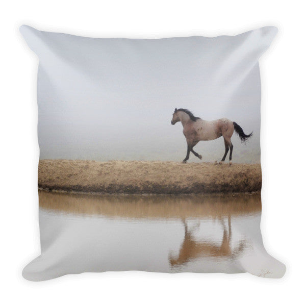 Mystical Beauty Throw Pillow