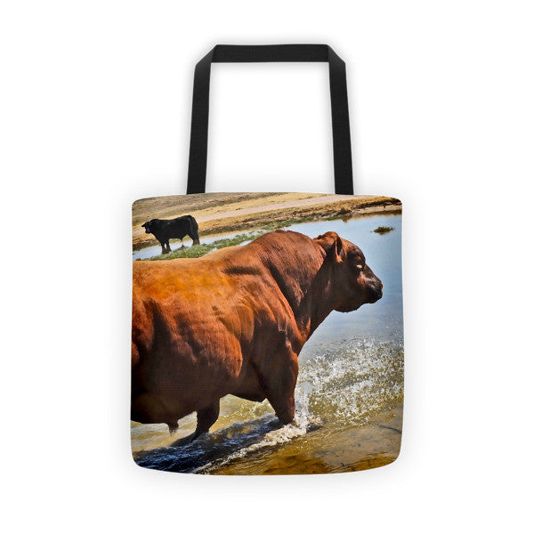 Bullble Bath Tote bag