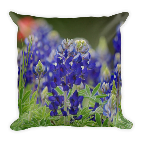 Roadside Beauties Throw Pillow
