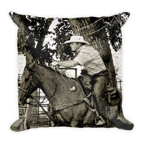 Concentration Times Two Throw Pillow