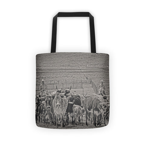 Heading Back to Open Range Tote bag