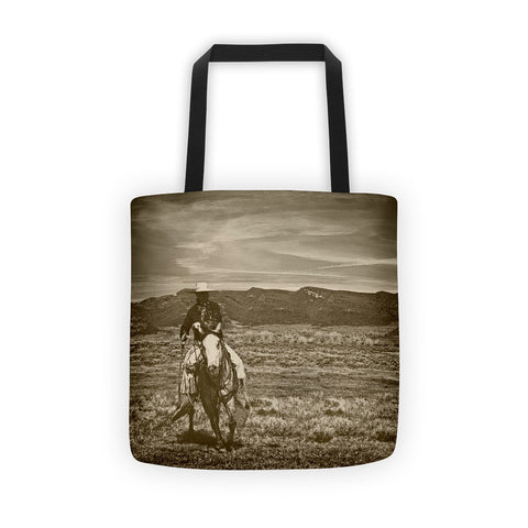 Cowboy Ride Tote bag