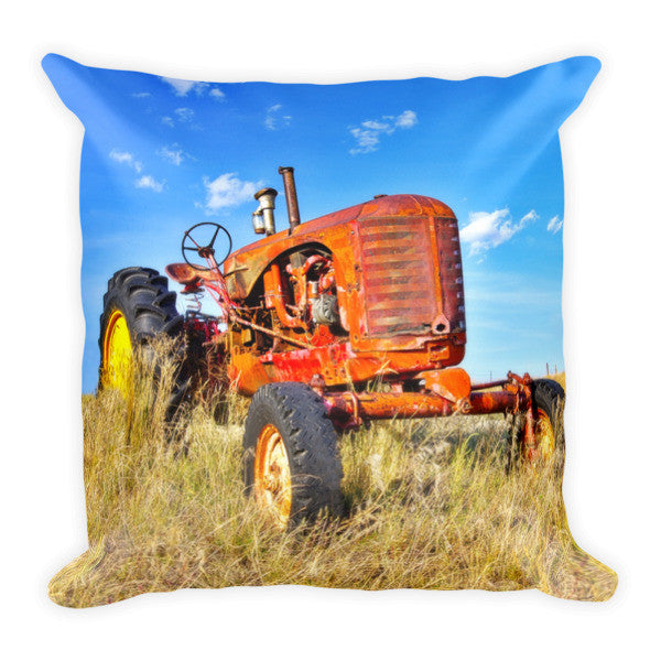 Diesel Red Throw Pillow