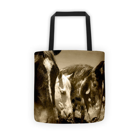 Whimsical Stallions Tote bag