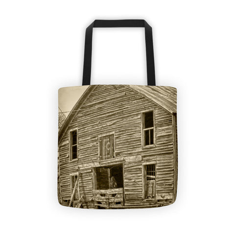 Rustic Barn of Old Tote bag