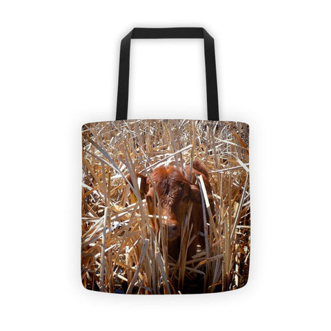 Calftails Cattails Tote bag